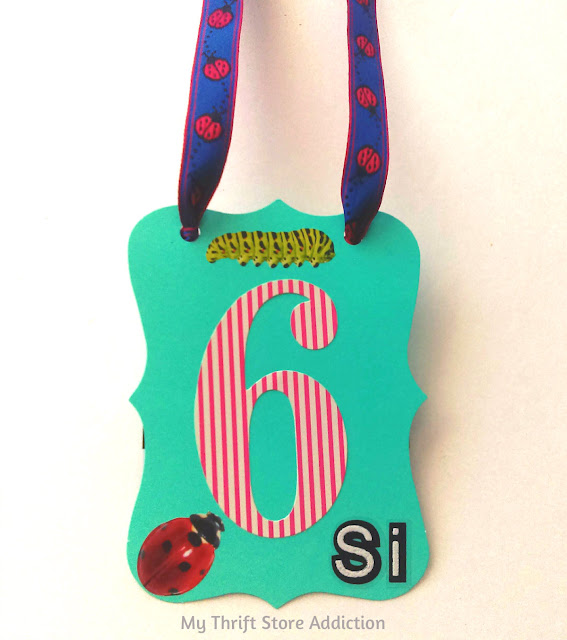 Birthday badge gift card holder
