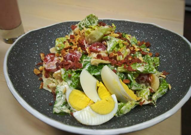 resep caesar salak salad