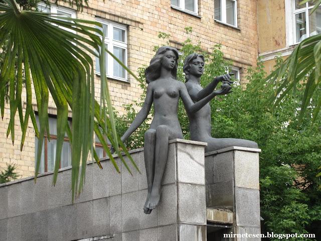 Пальмы на улицах Красноярска