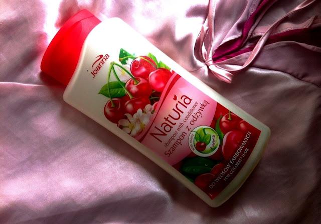 Joanna Naturia - szampon z odżywką do włosów farbowanych