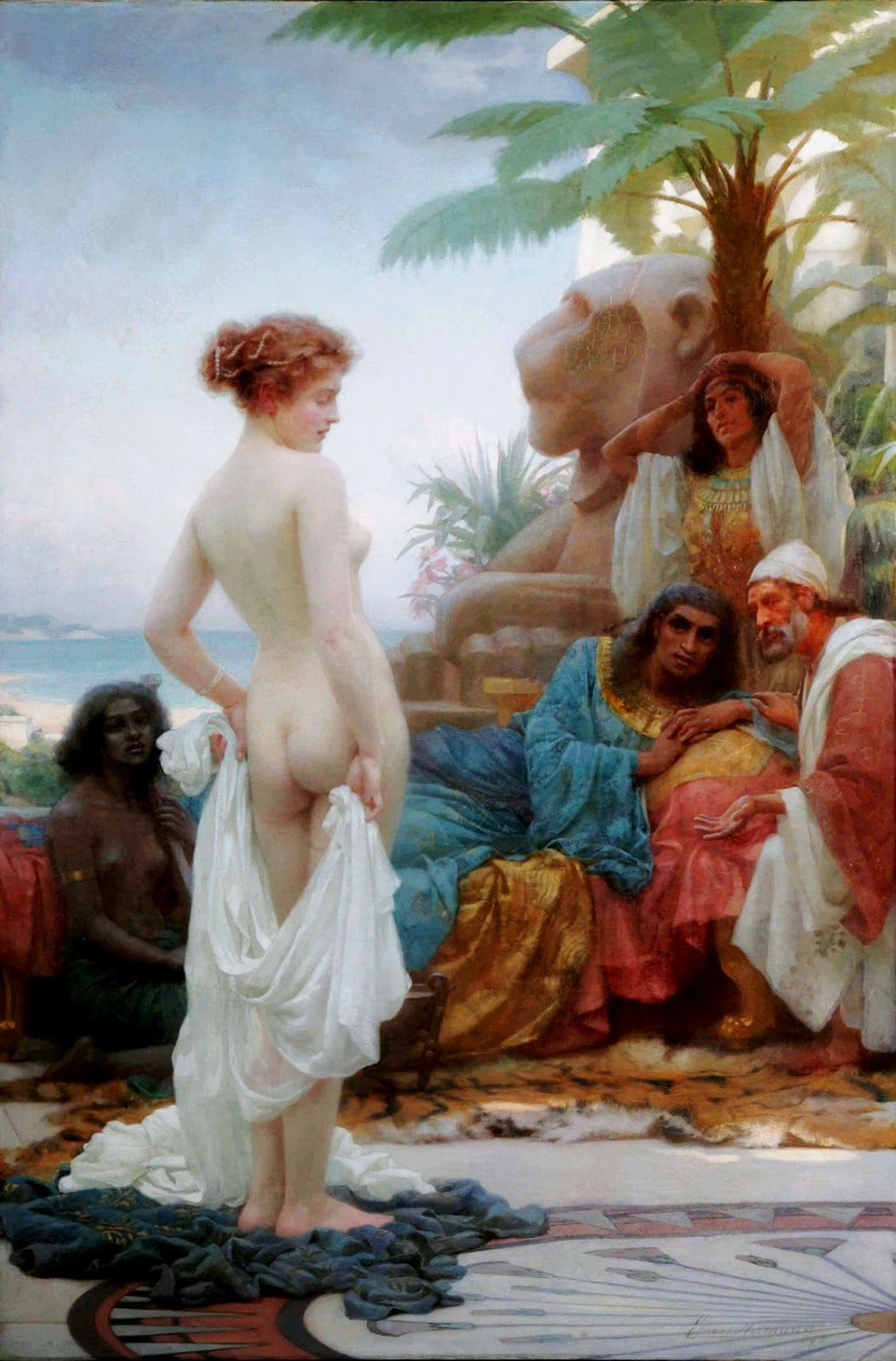 It is likely that Vashti refused to appear because she would have been humiliated in some way.