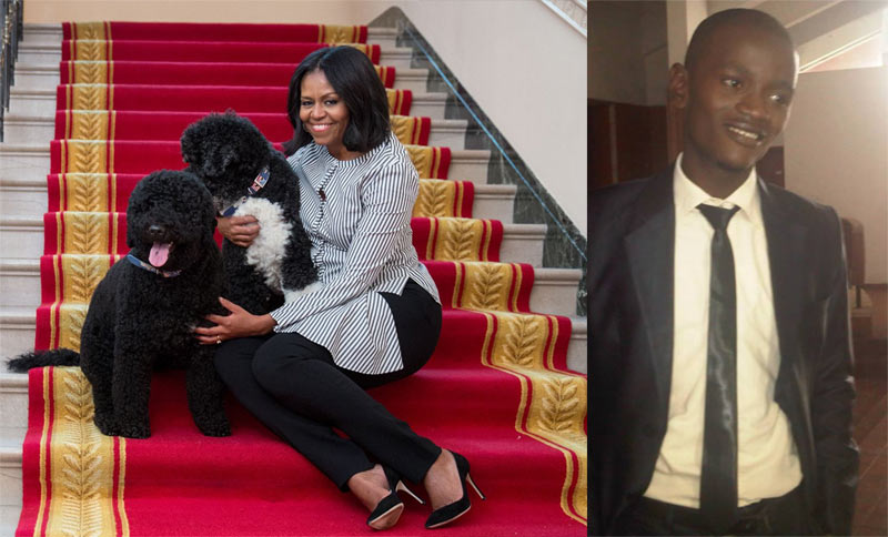 Really? This Nigerian guy taunted Michelle Obama for not having a male child