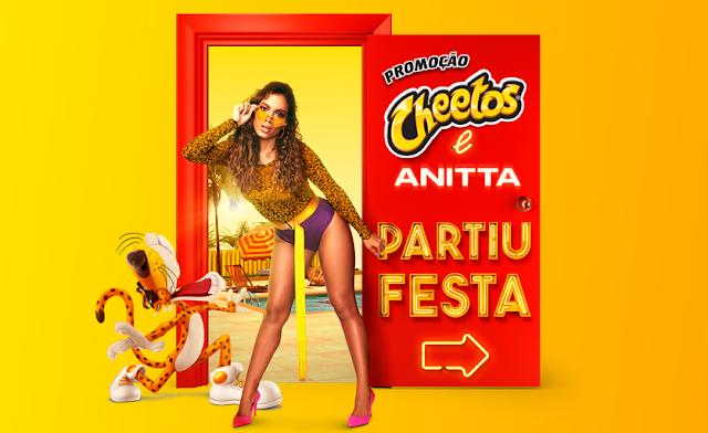 promoção cheetos anita