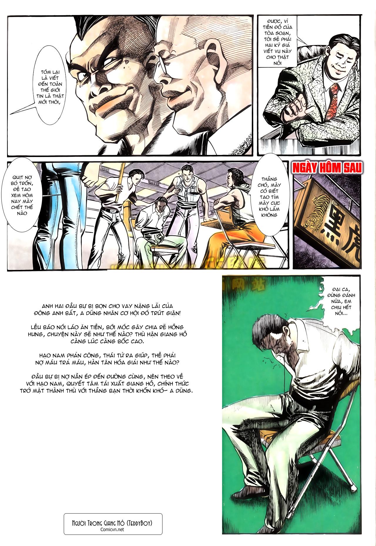 Người Trong Giang Hồ chapter 162: cưa đại tẩu trang 30