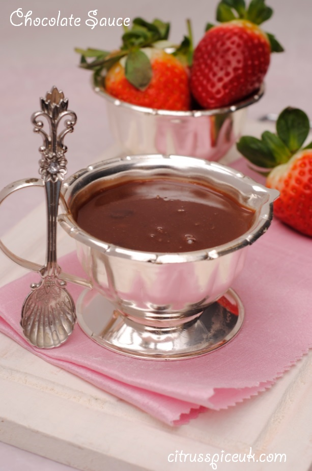 Citrus Spice and Travels: Easy Chocolate Sauce