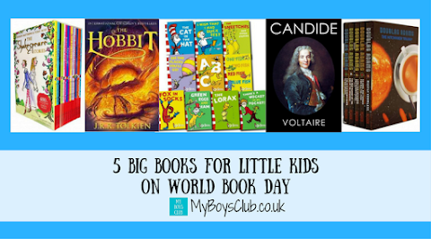 5 Big Books for Little Kids on World Book Day