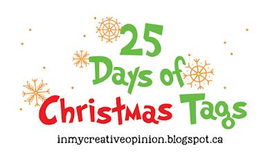 2020 25 Days of Christmas Tags