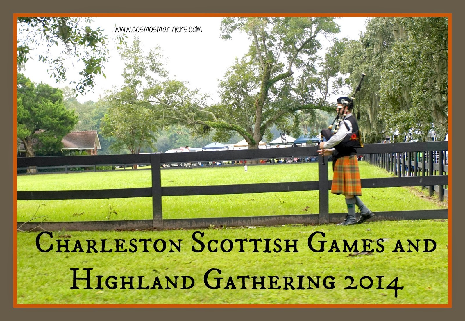 Charleston Scottish Games and Highland Gathering at Boone Hall