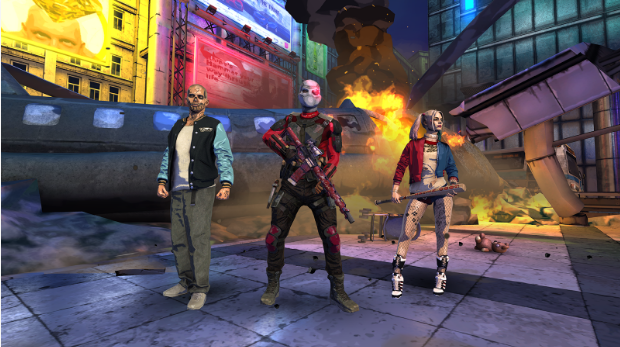Suicide Squad: Special Ops Android Game MOD APK Unlimited Ammo + Skills Download