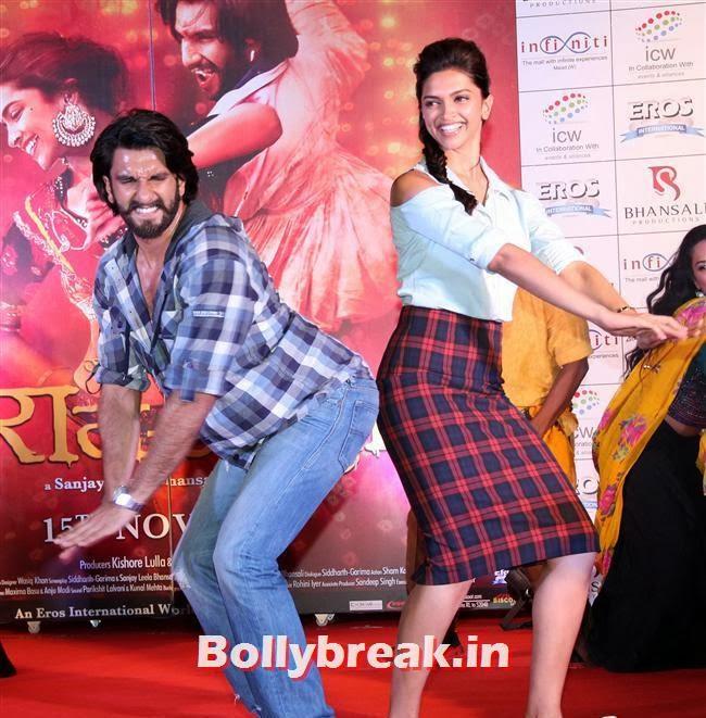 Ranveer Singh and Deepika Padukone, Deepika Ranveer Promote Movie Ram Leela