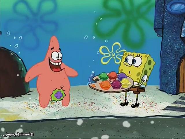 SpongeBob Season 2 Episode 5B - Patty Hipe SD 480p Dub Indo