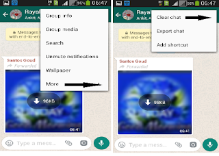 Clear Chat on Whatsapp - Phone Reader Kashi