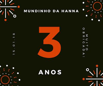 Aniversário Mundinho da Hanna