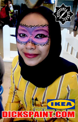 Face Painting Kids Alam Sutera Tangerang