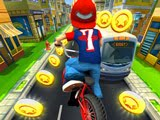 دراجة سباق - لعبة جديدة تمامًا على الإنترنت ، وهي سباق لا يتوقف. تسلق دراجتك واستعد لسباقات عالية السرعة ومتطرفة على طول شوارع مدينة كبيرة.