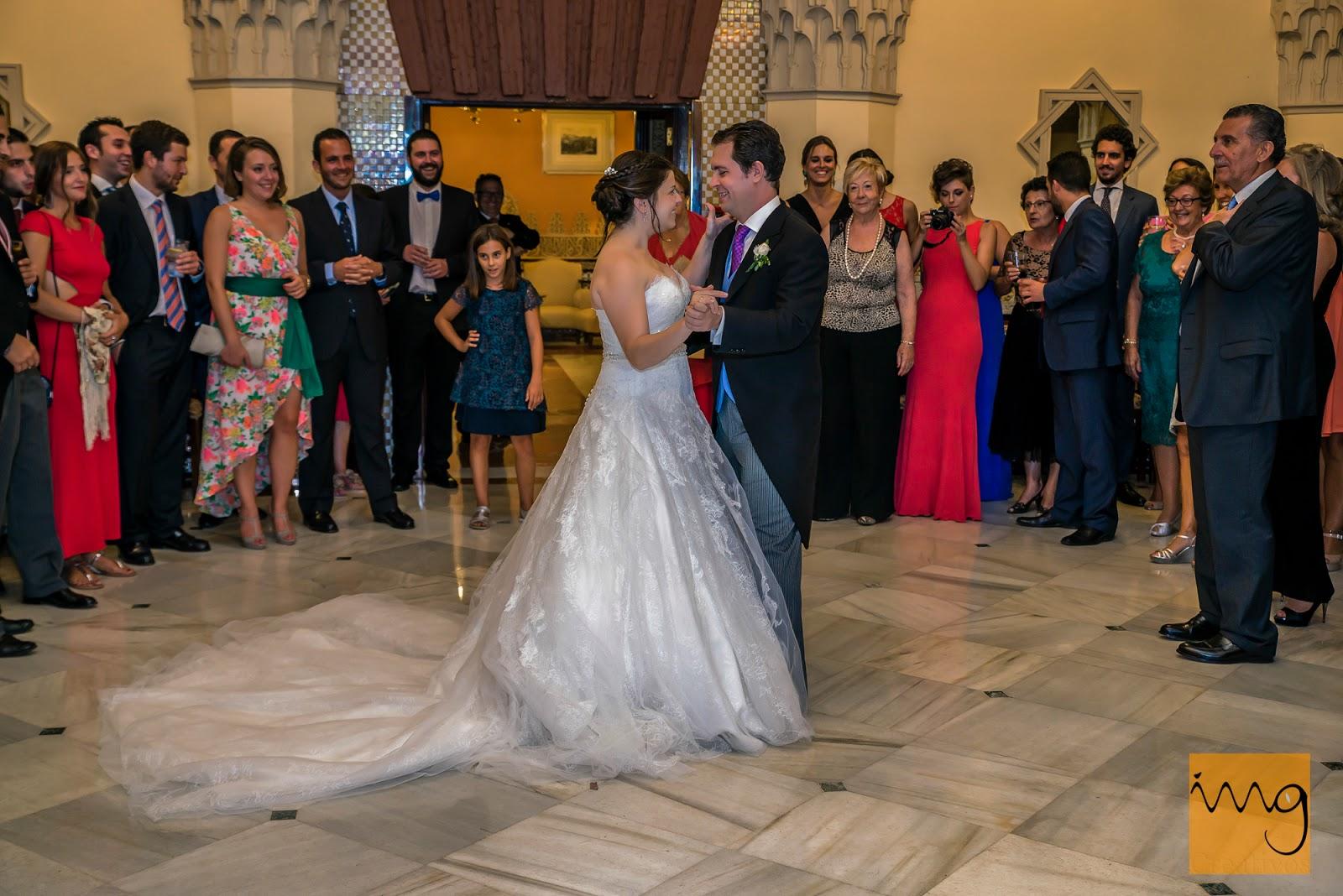 Fotografía de boda en el baile