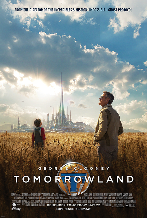 Poster TOMORROWLAND - George Clooney