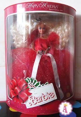 Обзор коллекционной куклы Барби Хеппи Холидейс 1988 года