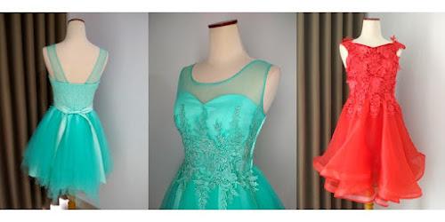 TEMPAT RENTAL DRESS SWEET 17 TEEN