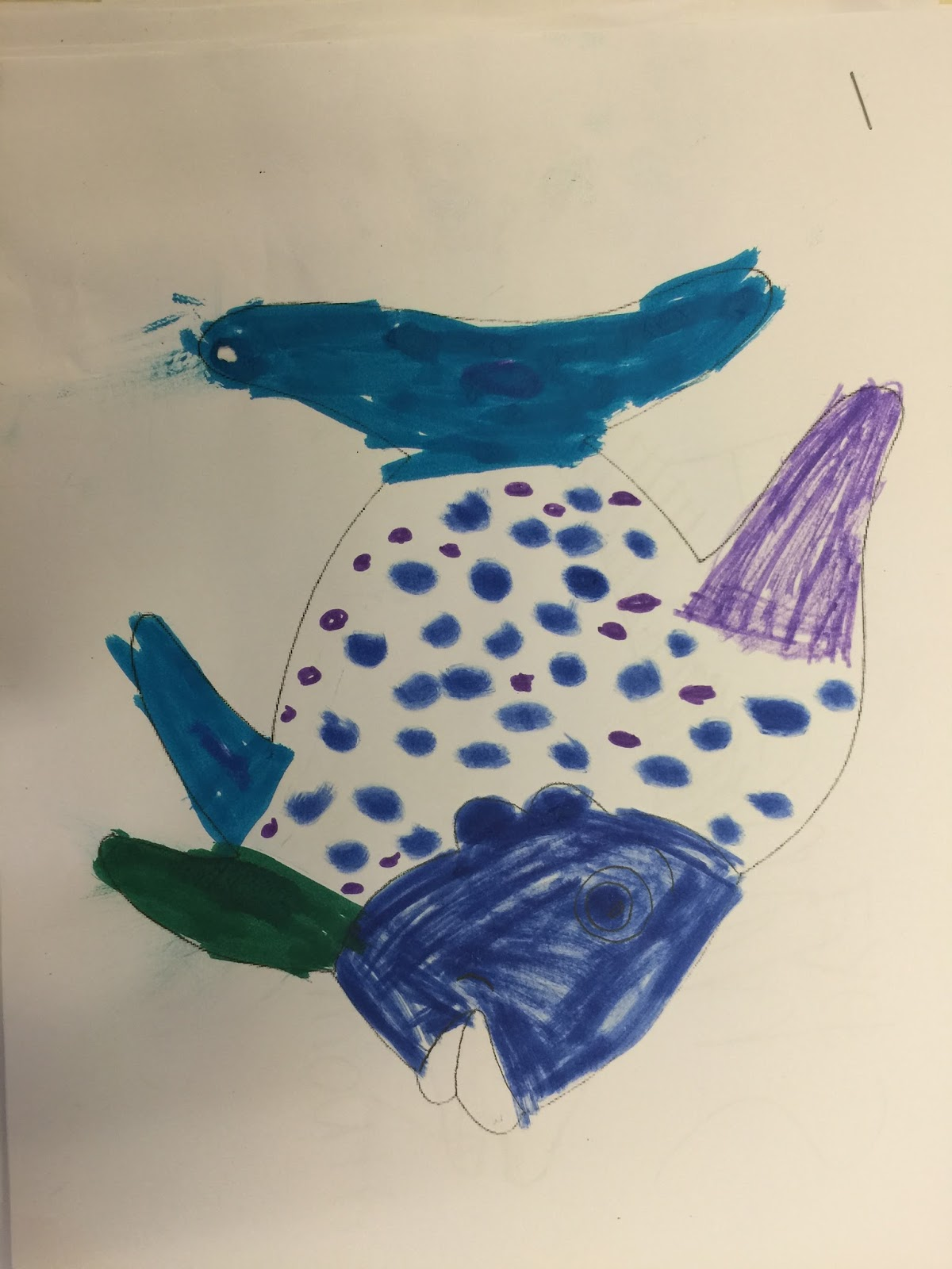 The Magnificent Paintbrush The Rainbow Fish 1st Grade