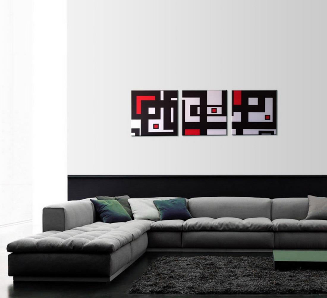 Cuadros modernos pinturas y dibujos que son cuadros for Fotos de cuadros abstractos sencillos