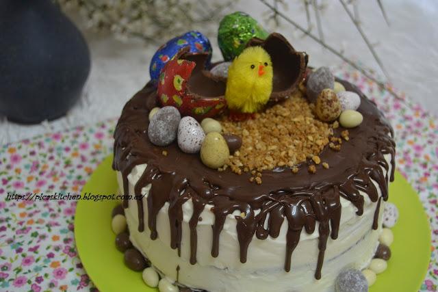 EASTER DRIP CAKE.  51º Desafío en la Cocina