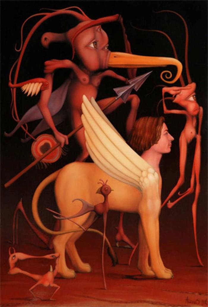 Ужасы древних мифов. Hugues Gillet 3