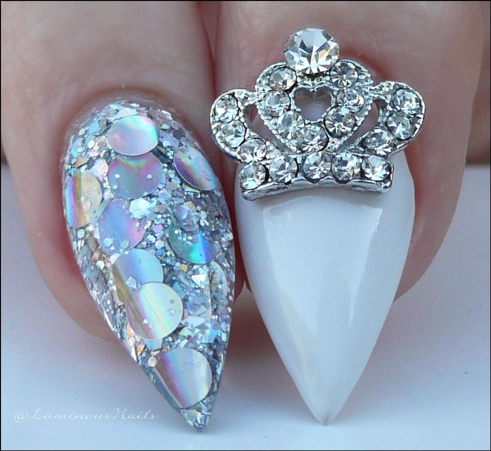 Luminous Nails Princess Acrylic Nails