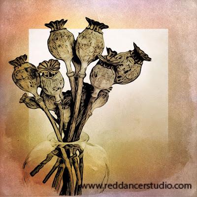 Equipment: iPhone 6, iPad. App used: MokoHangaHD. Flowers found at #MichaelsCrafts