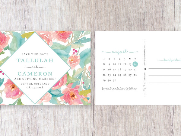 Tallulah Wedding Invitation Suite