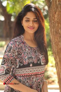 Actress Sunaina Latest Stills in Floral Dress at Pelliki Mundu Prema Katha Trailer Launch  0019.JPG