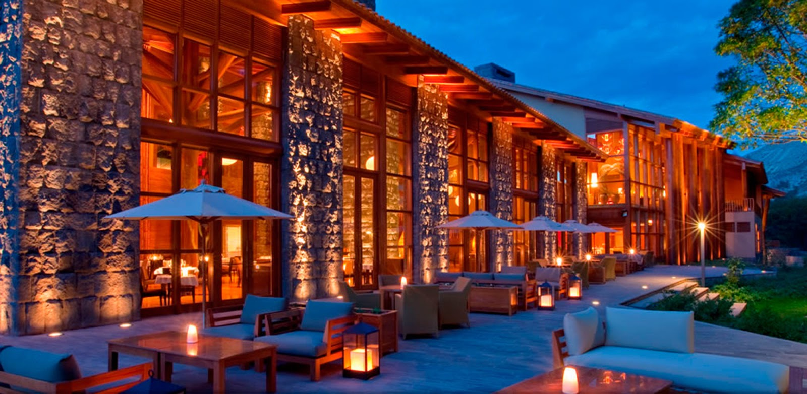 Revista lobby remasterizados for Hotel luxury cusco