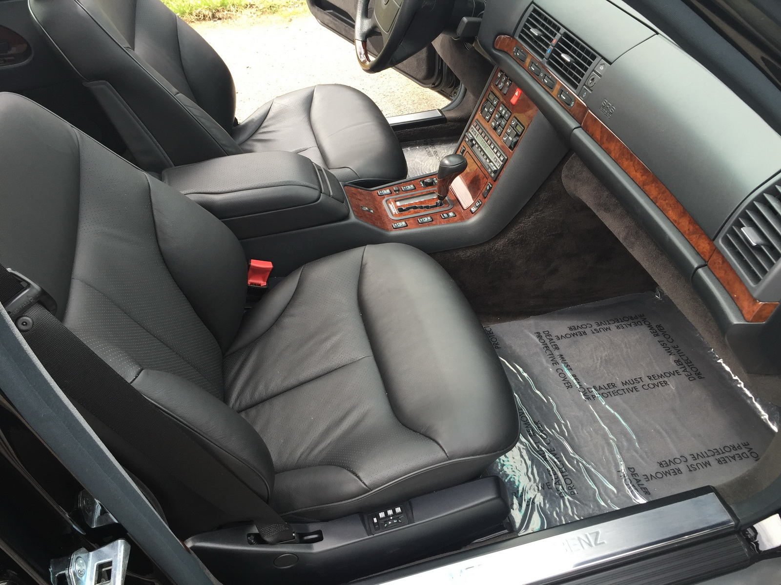 Pair Of Unused Mercedes Benz S Class W140s Up For Sale For
