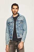 Geaca jeans Pinner • Pepe Jeans