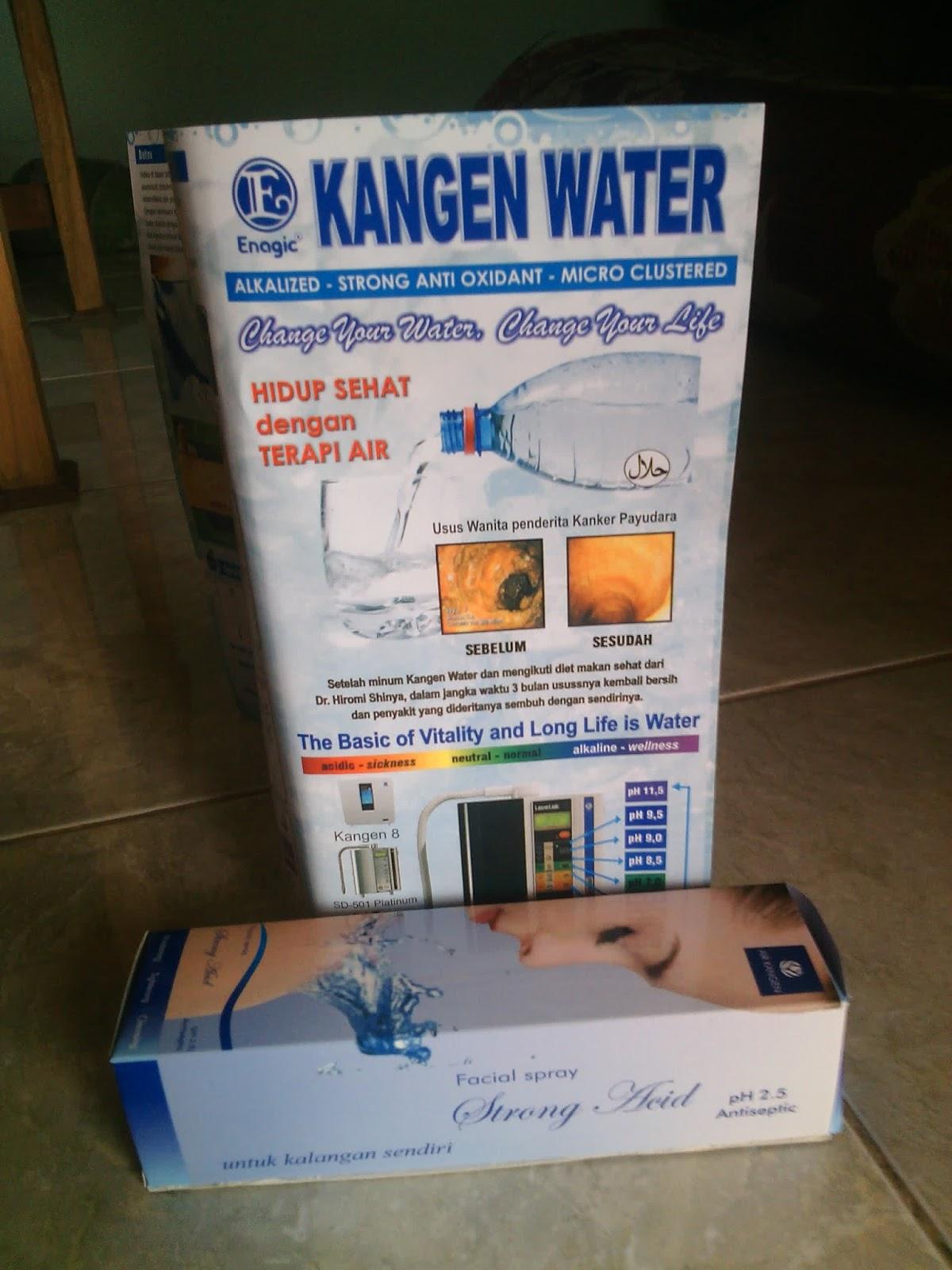 Produk Air Kesehatan Kangen Water Serta Fungsi Zero Paket Cantik By Manfaat