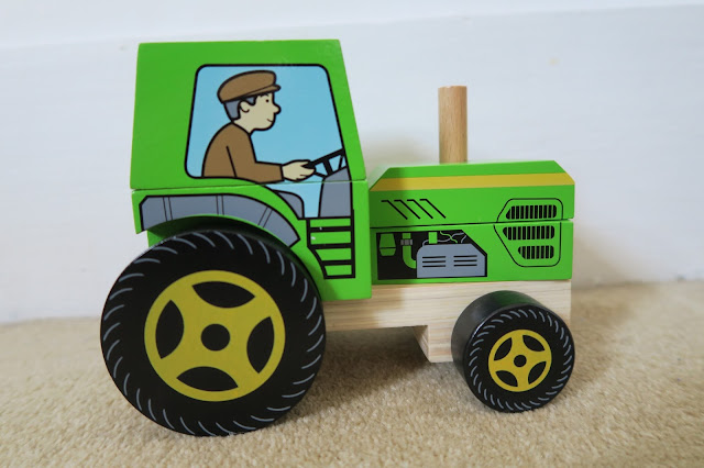 Stacking Tractor puzzle