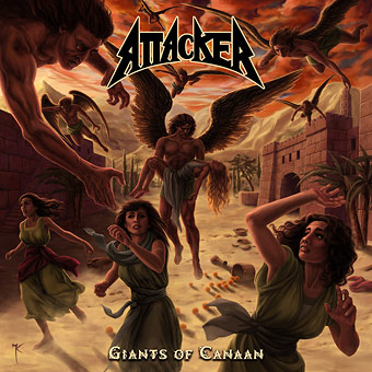 """Ακούστε τον δίσκο των Attacker """"Giants of Canaan"""""""