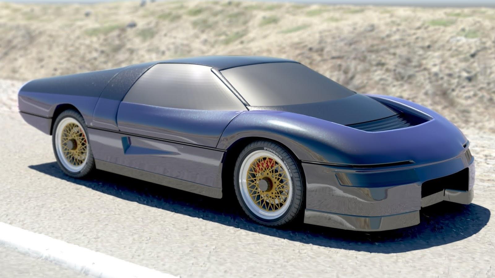 The Wraith Car: The Wraith