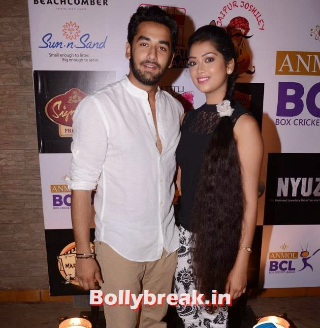 Vishal Vashisht and Digangana S, Box Cricket League Success Party - Tv Babes as Guests