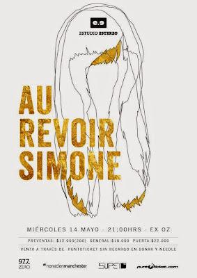 Concierto de  Au Revoir Simone en Chile