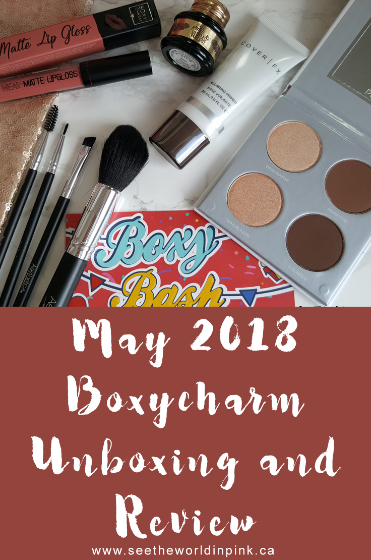 May 2018 Boxycharm - Unboxing, Swatches, and Review!