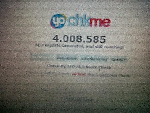 gambar beranda situs chkme ( situs pengecek score seo )