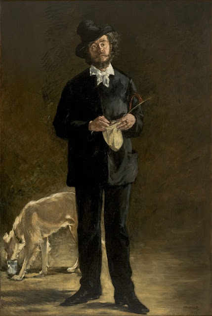 Edouard Manet - El Artista. Retrato de Marcellin Desboutin - 1875