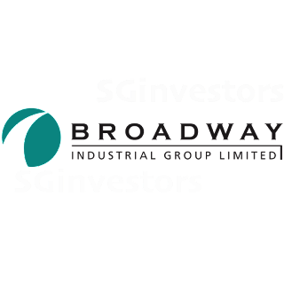 BROADWAY INDUSTRIAL GROUP LTD (B69.SI) @ SG investors.io