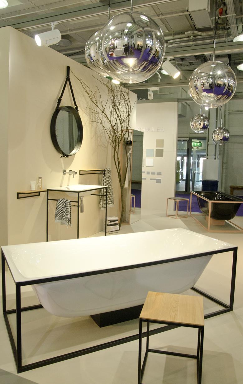 wnętrza, trendy w łazienkach 2015 2016 na London Design Week.