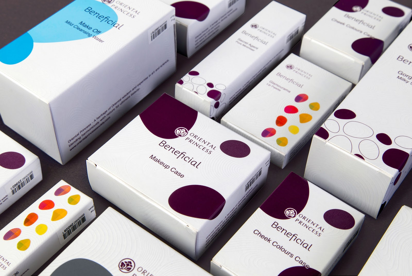 Oriental Princess Beneficial On Packaging Of The World