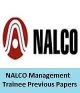 NALCO Management Trainee Previous Papers