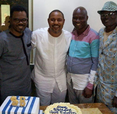 saidi balogun 51st birthday party