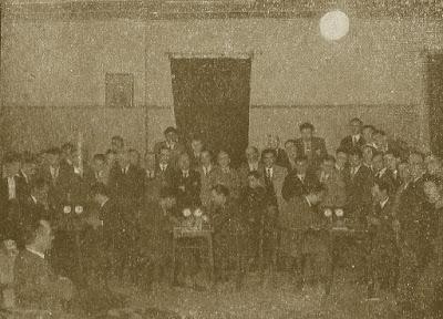 Tercera ronda del Torneo Nacional de Ajedrez Fiestas del Pilar Zaragoza 1942