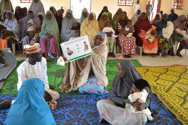 Community-based infant and young child feeding promotion
